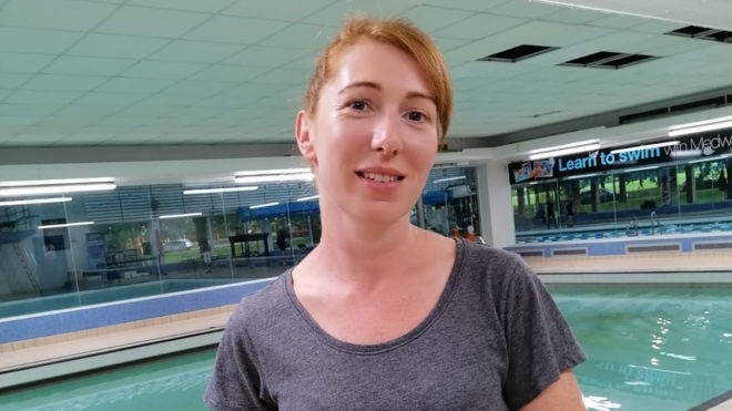 Overcoming fear and doing the 'mum stroke' - Carey's #LoveSwimming story