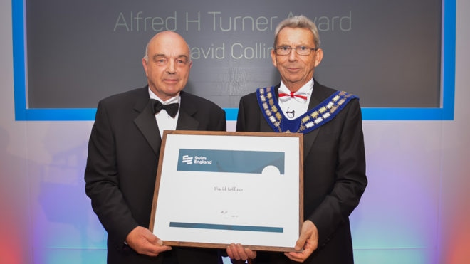 Volunteer David dedicates Alfred H Turner Award to his family
