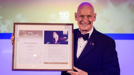 Swimming saved my life admits Hall of Fame inductee Duncan Goodhew