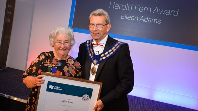 Eileen humbled to be presented with Harold Fern Award