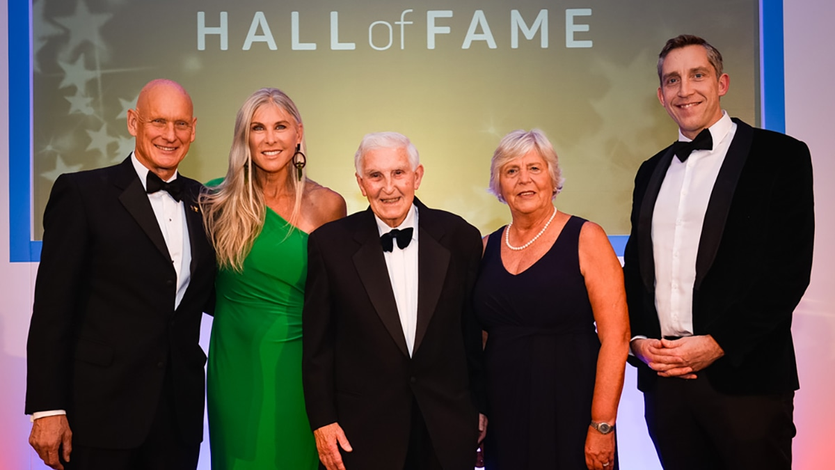 Duncan Goodhew, Sharron Davies, Alan Donlan, Jenny Gray and Steve Parry are being inducted in the Swim England Hall of Fame