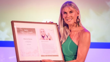 Sharron Davies on her honour at being inducted into Hall of Fame