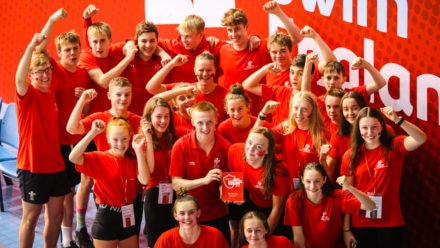Swim Wales West return to top flight with Division Two title at County Champs
