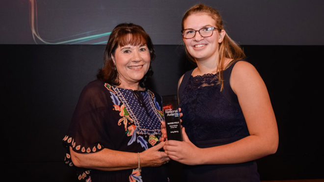 Amy Berry reflects on 'amazing' 2019 after winning Athlete of the Year award