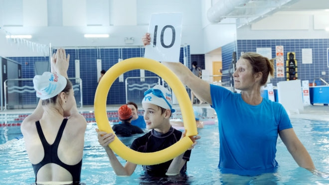 Big School Swim a 'great way' to educate youngsters about water safety
