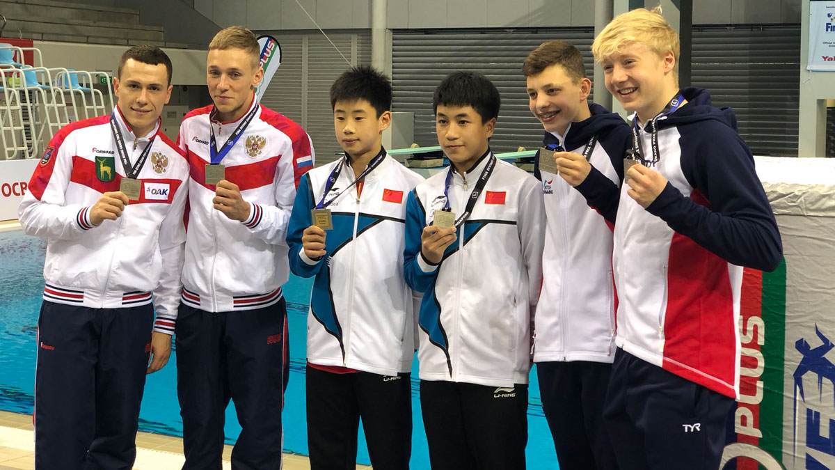 British divers win three medals at FINA Grand Prix finale in Singapore