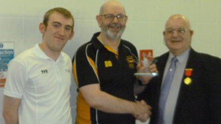 Horwich swimming coach David Dewhurst wins Youth Champion Award