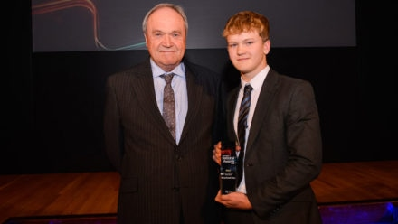 Youth Volunteer of the Year Henry Russell-Ross says it's all worthwhile