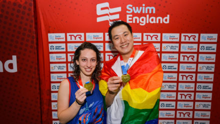 Out to Swim showing 'synchronised swimming is open to everyone'