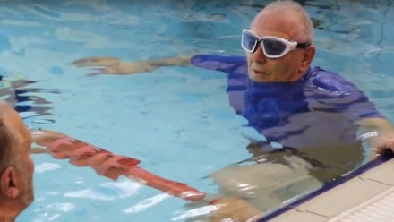 How swimming sessions are proving to be valuable for those living with dementia