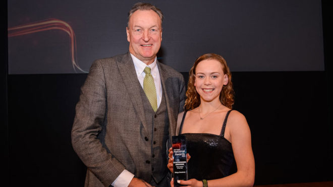 Synchro Talent Athlete of the Year Robyn Swatman is dreaming big