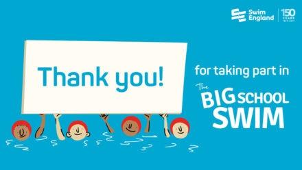 Big School Swim hailed as a big success as more than 70,000 pupils take part