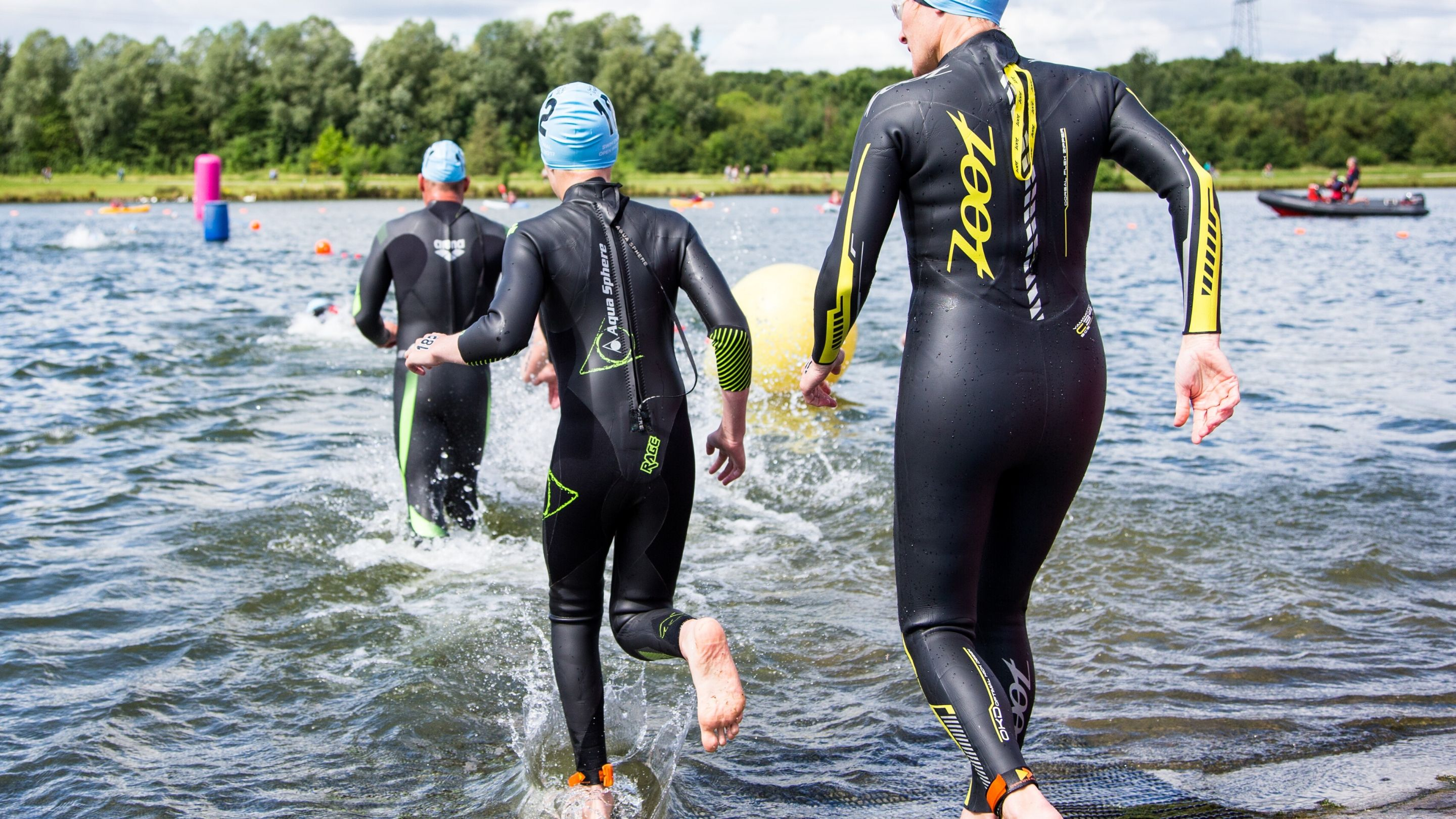 Dipping into Open Water Swimming