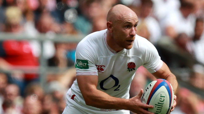 England rugby ace Willi Heinz says the pool helps him focus ahead of matches