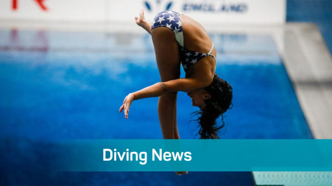 Live online Diving workouts available for whole community