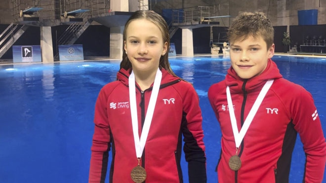 Golden first day for Swim England divers at Camo Invitational
