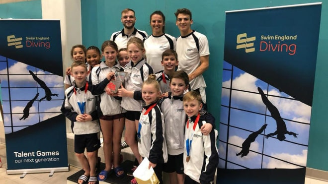 'Abundance of exciting young divers' make Talent Games a 'fantastic success'