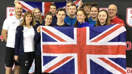 British youngsters win 25 medals in impressive display at Canadian event
