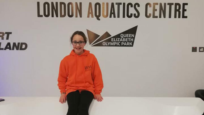 Eilidh Cowe puts West Midlands on map at ESSA National Diving Championships
