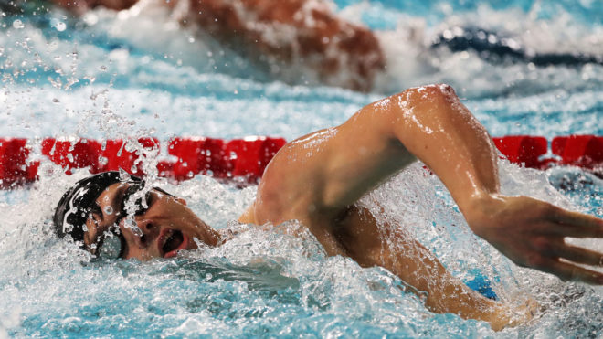 James Guy and Freya Anderson each win hat-trick of golds at Flanders Cup