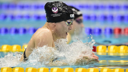 Jocelyn Ulyett breaks British record to seal 200m Breaststroke title at Winter Champs