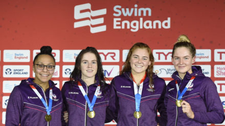 Loughborough University sweep relays on day two of Winter Championships