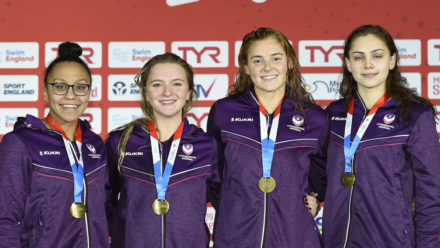 Loughborough University complete relay clean sweep at National Winter Champs