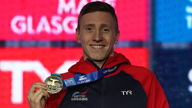 Club swimming 'made me the swimmer I am today' says Olympian Max Litchfield