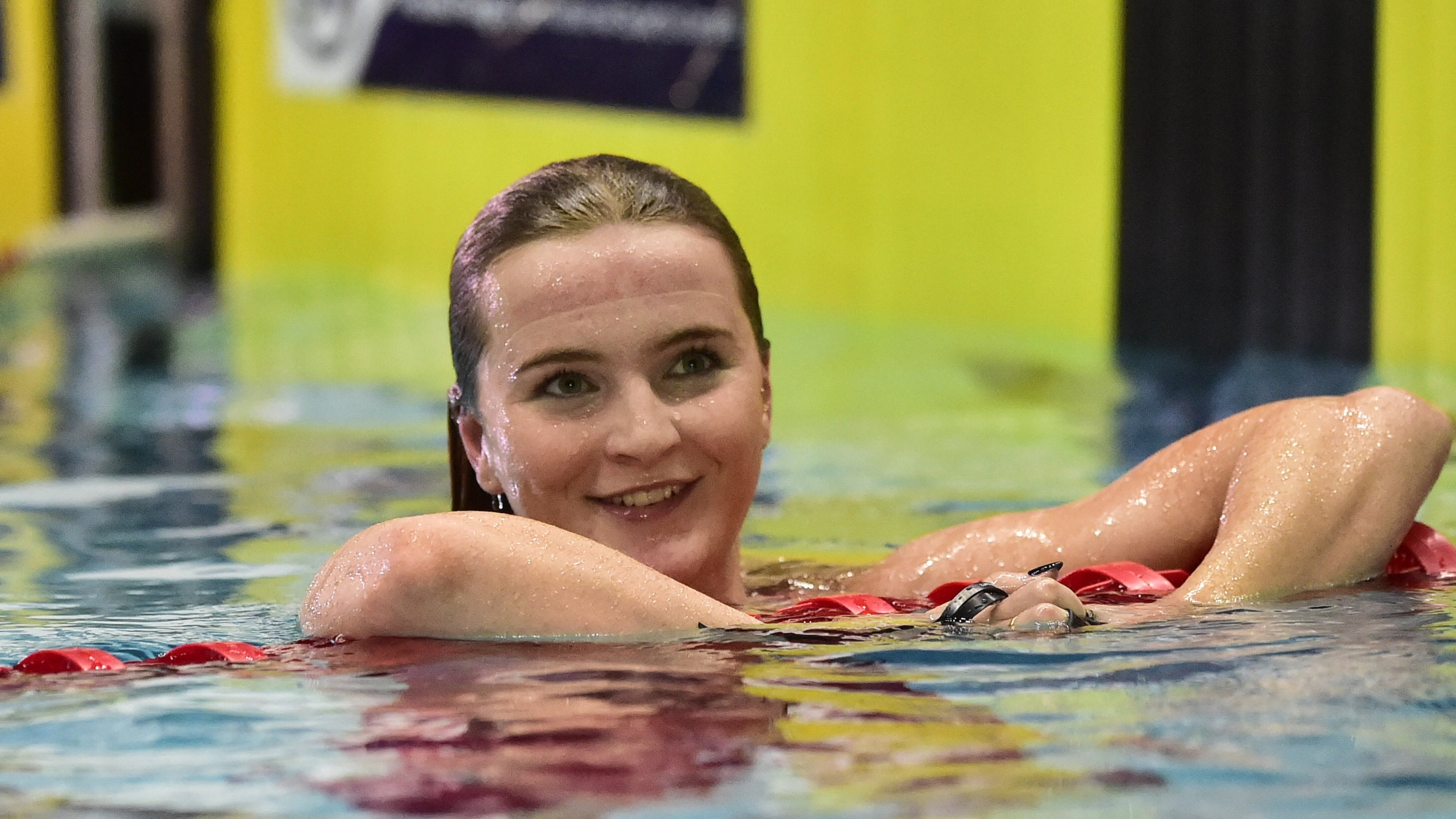 Abbie Wood won the 400m Freestyle title at the National Winter Championships