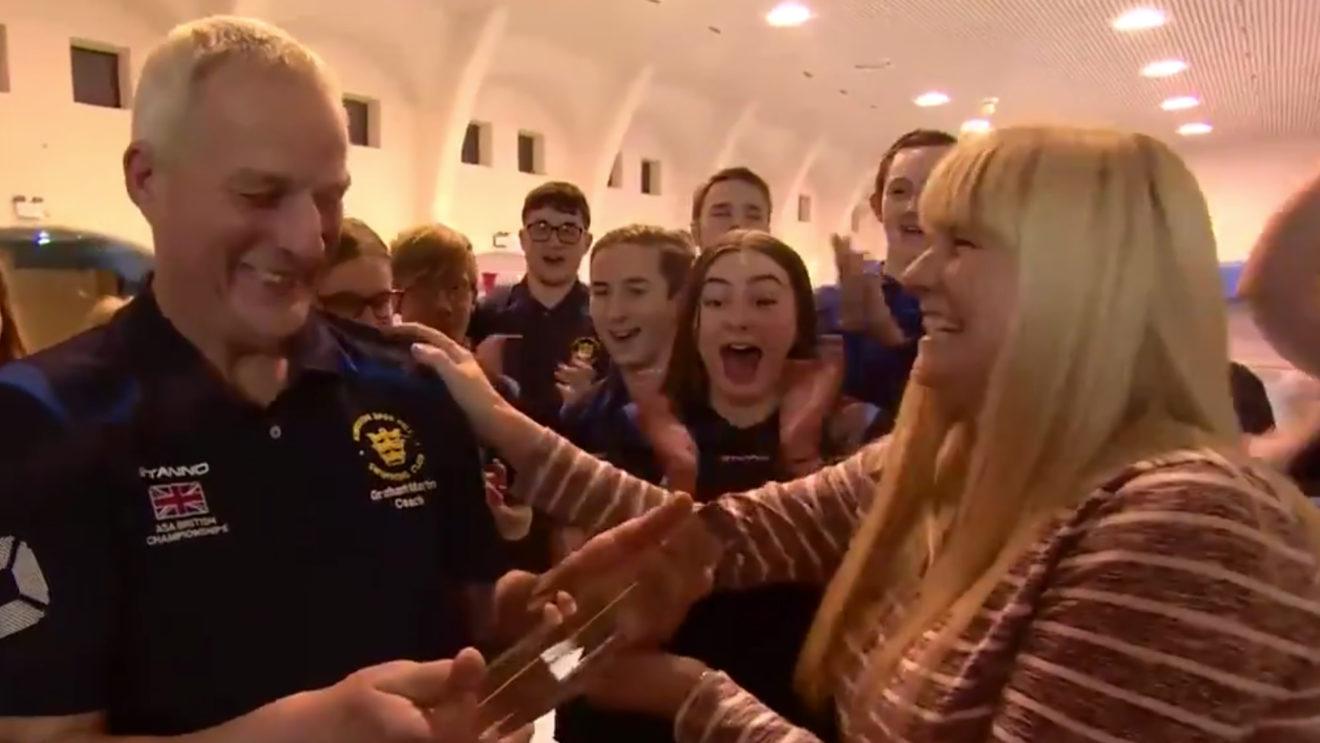 'Inspirational' coach Graham Martin wins BBC Unsung Hero regional award