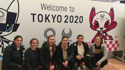 British juniors sample the Olympic lifestyle during Japan training trip