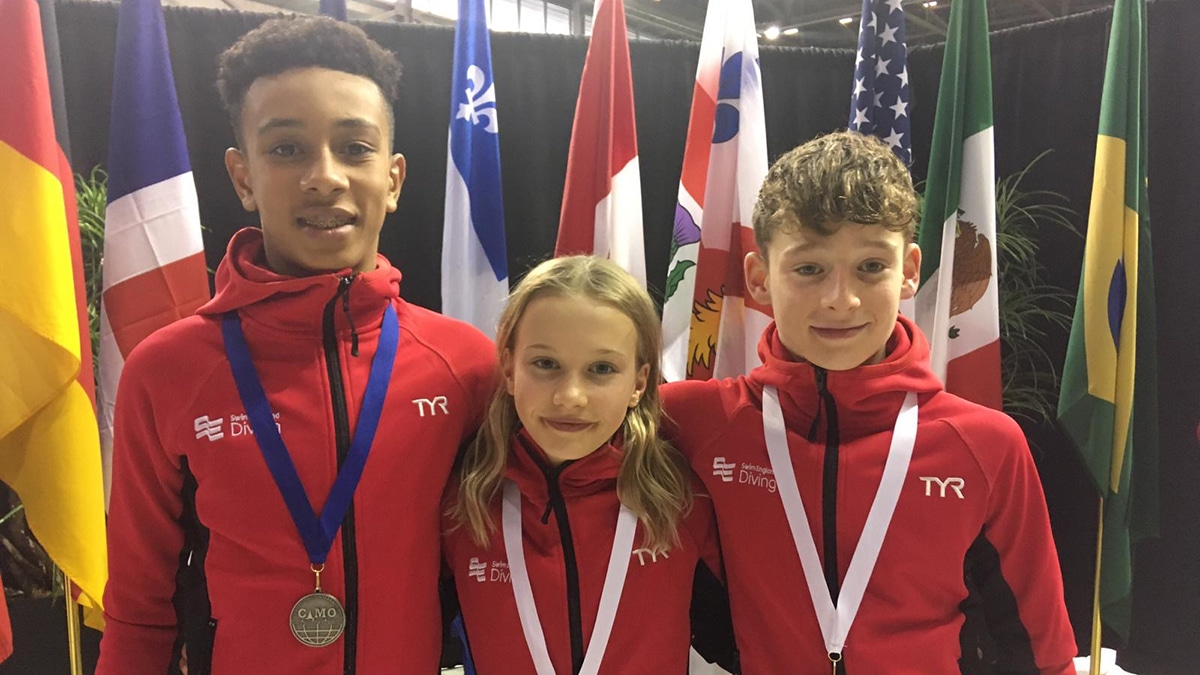Hat-trick of golds for Maisie Bond as Swim England divers shine at Camo Invitational