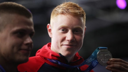 Dean bags silver as Brits enjoy great first night at European Short Course Champs