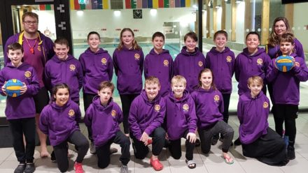 Drenched Mini Water Polo first English team at HaBaWaBa International