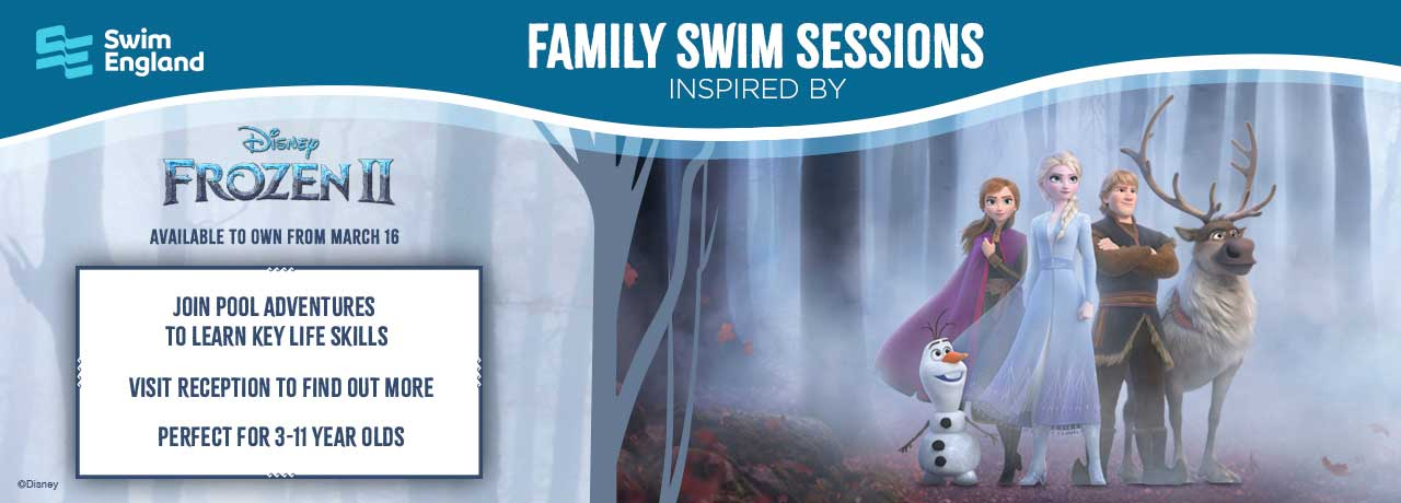 Disney inspired family fun swim sessions