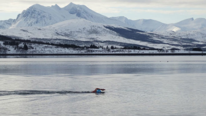 Kate Steels on the brink of joining ice swimming royalty with epic challenge