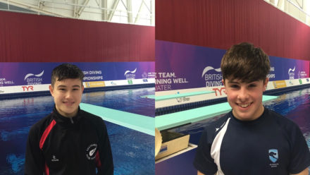 Youngsters impress in high class final at British Diving Championships