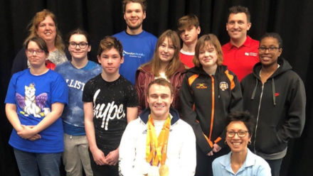 Paralympic champion Ollie Hynd inspires next generation of para-swimmers