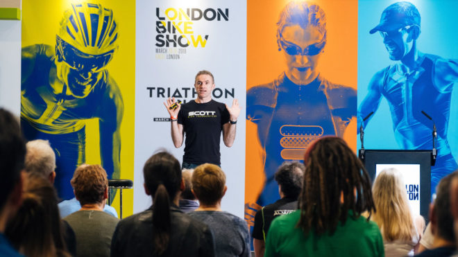 Access Swim England's exclusive ticket offer for Triathlon Show: London