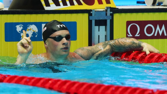 Adam Peaty crowned number one male swimmer in Europe at LEN Awards 2019