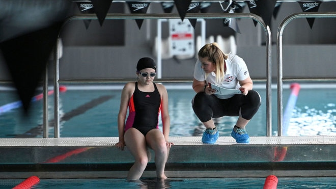 Registrations are open for British Blind Sport National Youth Swimming Gala