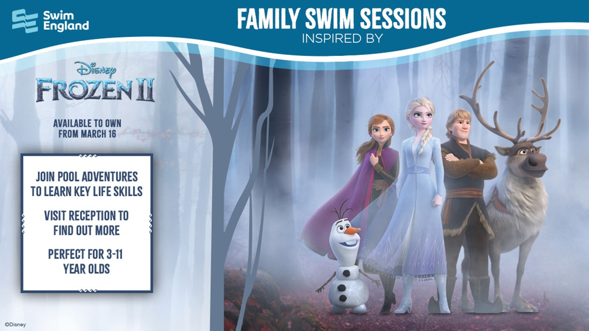 The Disney-inspired Family Fun sessions are to get a sprinkling of Frozen 2 magic from Saturday 1 February