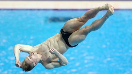 Team Z divers get chance to train alongside Olympic champion Jack Laugher