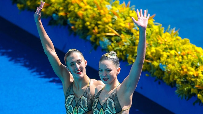 National standard of synchronised swimming 'strongest it's ever been'