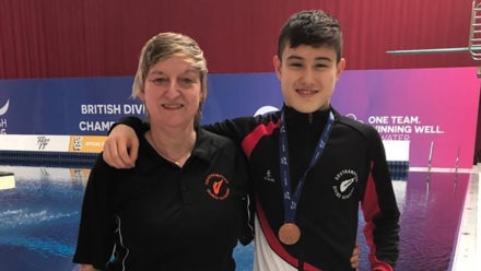 Leon Baker bags first British senior medal to hand coach perfect birthday present
