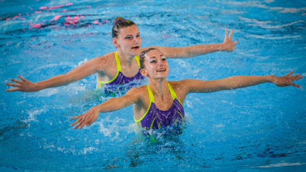 Artistic swimming replaces synchro in England as sport aligns with FINA