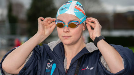 Ice swimmers warm up for world stage at British Championships