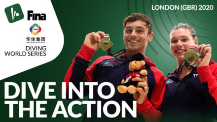 Access Swim England's exclusive discount for FINA Diving World Series tickets