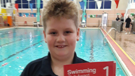 Club Awards 'keep the swimmers motivated' at Hornchurch Swimming Club