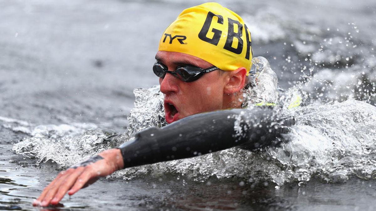 Marathon swimmer Jack Burnell announces his retirement from the sport